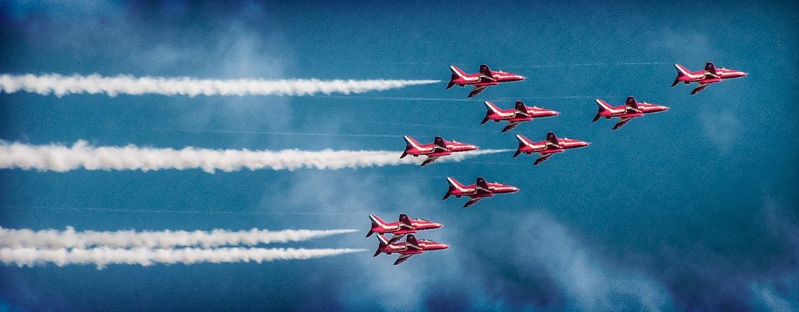 Brough's flying past